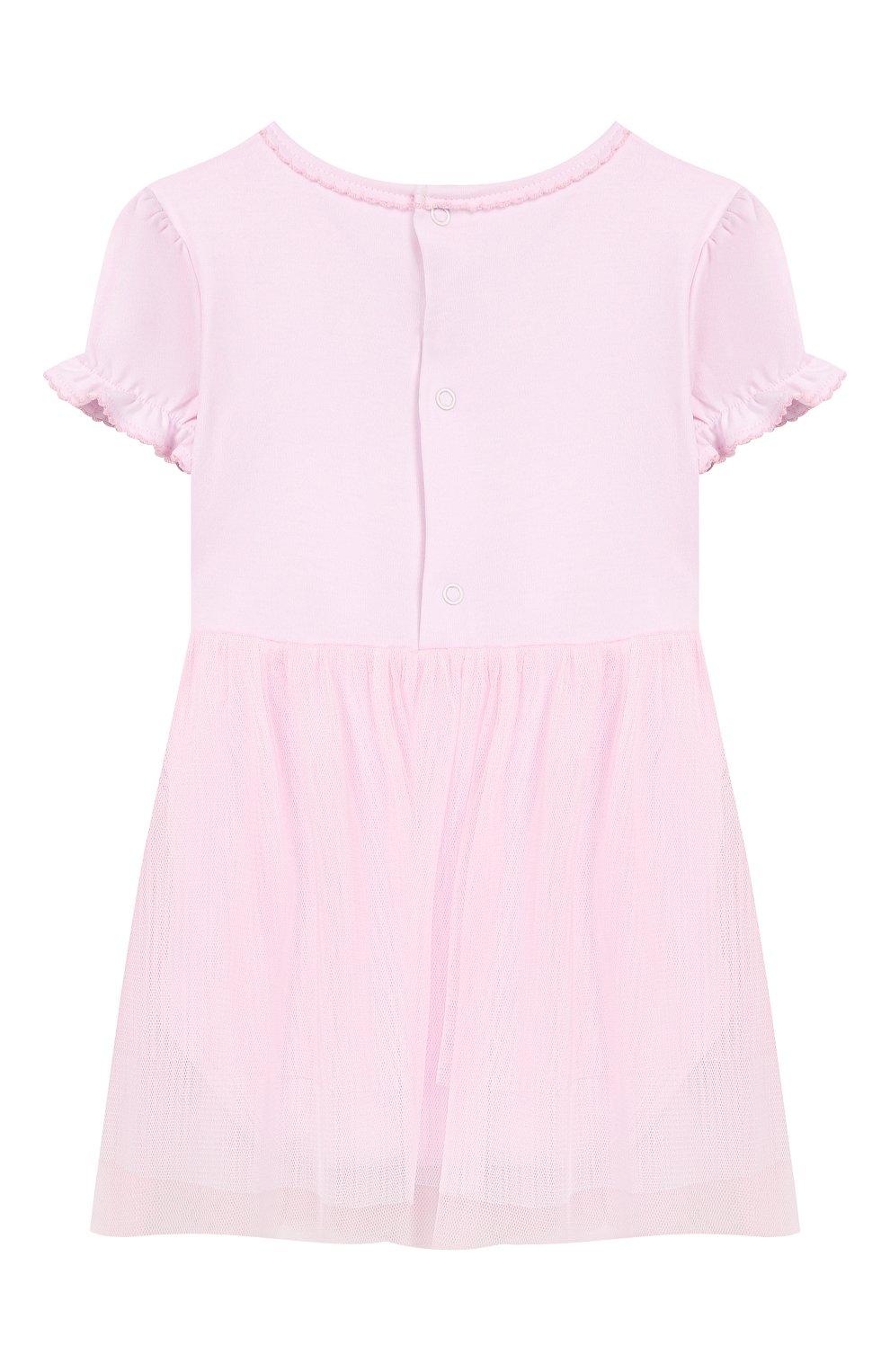 Женский хлопковое платье KISSY KISSY розового цвета, арт. KGU04454N   Фото 2