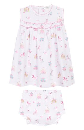 Женский комплект из платья и шорт KISSY KISSY розового цвета, арт. KGU04439I | Фото 1