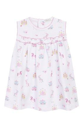 Женский комплект из платья и шорт KISSY KISSY розового цвета, арт. KGU04439I | Фото 2