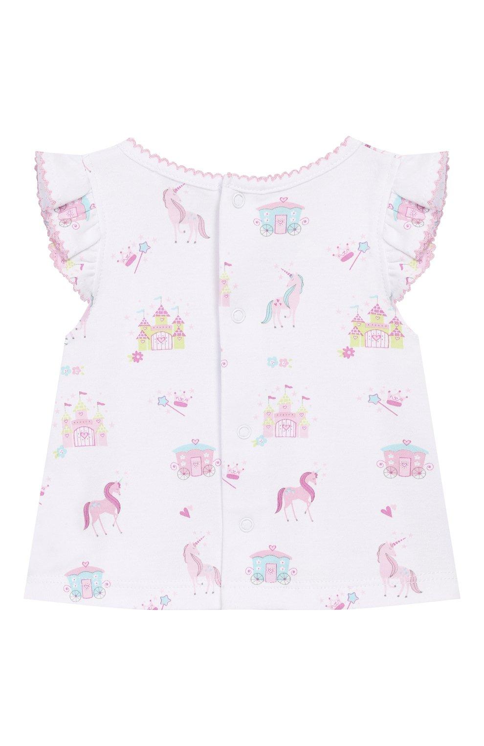 Детский комплект из топа и шорт KISSY KISSY розового цвета, арт. KGD04442I | Фото 3