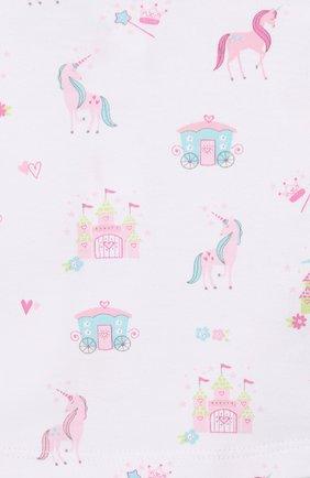 Детский комплект из топа и шорт KISSY KISSY розового цвета, арт. KGD04442I | Фото 6