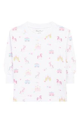 Детский хлопковая пижама KISSY KISSY розового цвета, арт. KG604441I | Фото 2