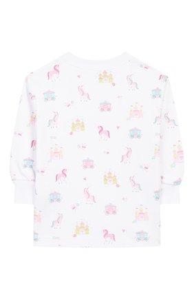 Детский хлопковая пижама KISSY KISSY розового цвета, арт. KG604441I | Фото 3