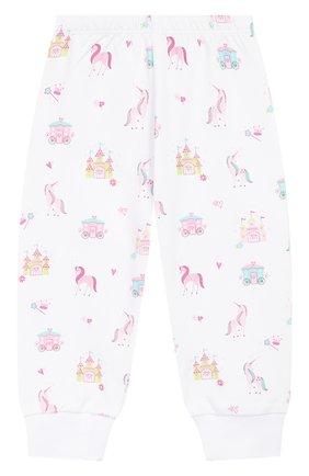 Детский хлопковая пижама KISSY KISSY розового цвета, арт. KG604441I | Фото 4