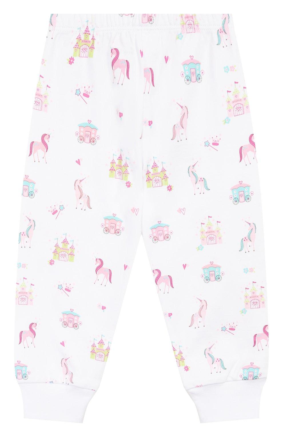 Детский хлопковая пижама KISSY KISSY розового цвета, арт. KG604441I | Фото 5