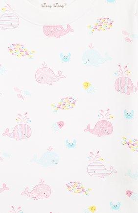 Детский комплект из 3-х предметов KISSY KISSY розового цвета, арт. KG603549I | Фото 6
