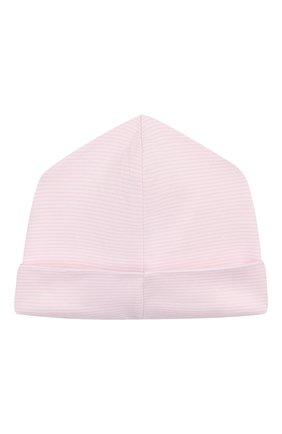 Детского хлопковая шапка KISSY KISSY розового цвета, арт. KG504447N | Фото 2