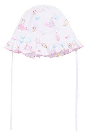 Детская хлопковая шапка KISSY KISSY розового цвета, арт. KG503557N | Фото 1