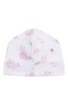 Детского хлопковая шапка KISSY KISSY розового цвета, арт. KG503555N | Фото 2