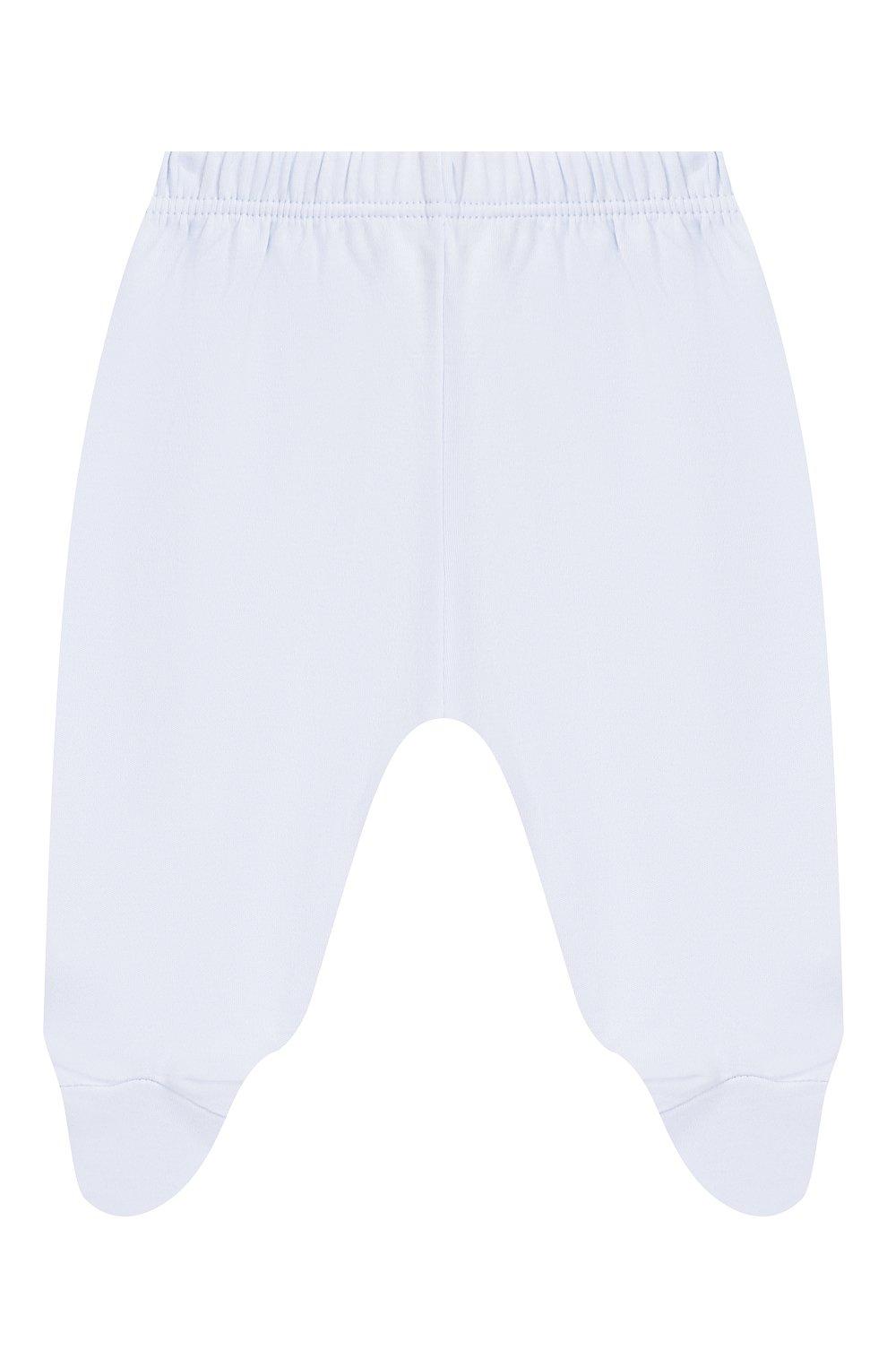 Детский комплект из распашонки и брюк KISSY KISSY голубого цвета, арт. KBZ04280N | Фото 4