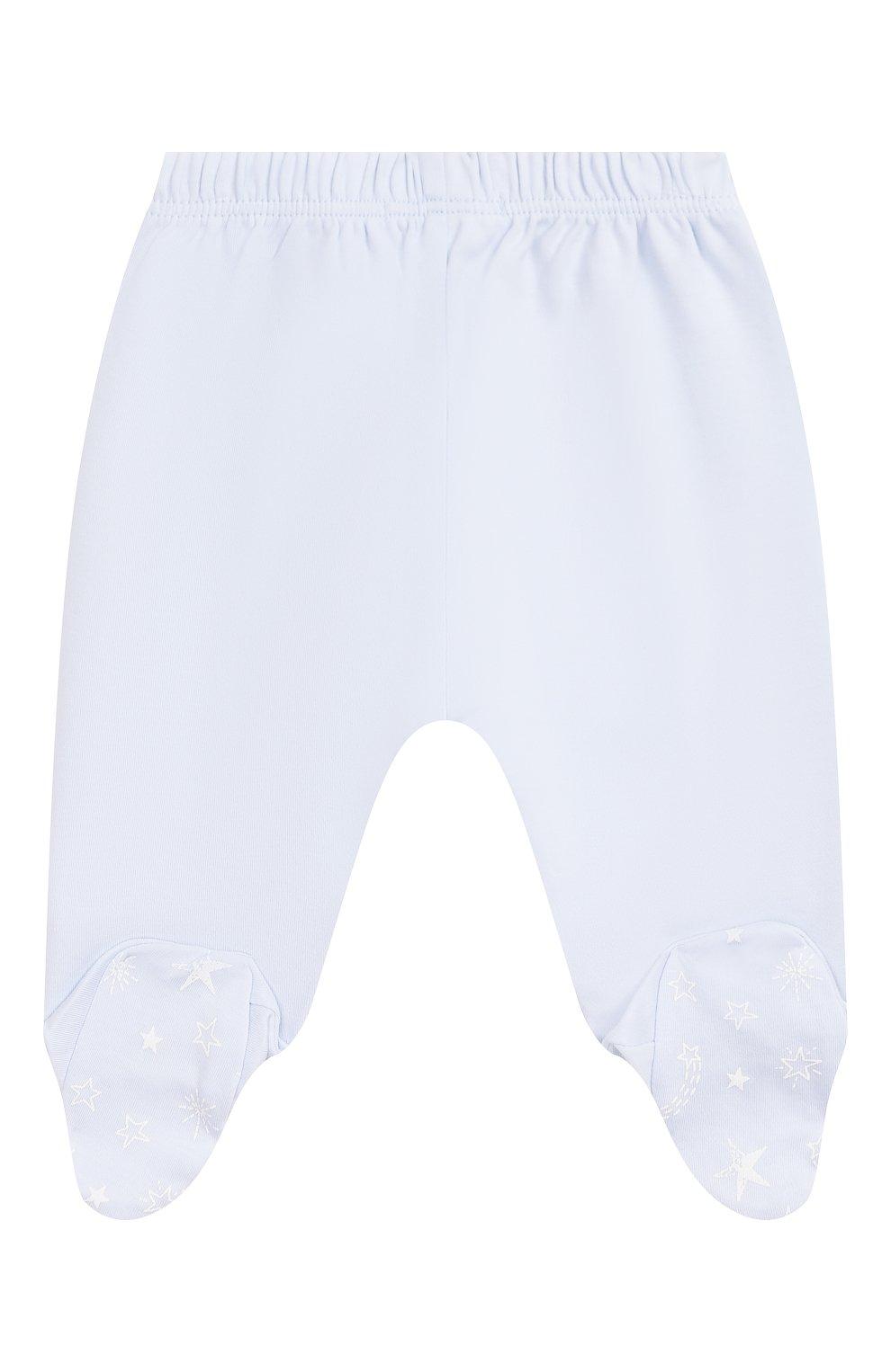 Детский комплект из распашонки и брюк KISSY KISSY голубого цвета, арт. KBZ04280N | Фото 5