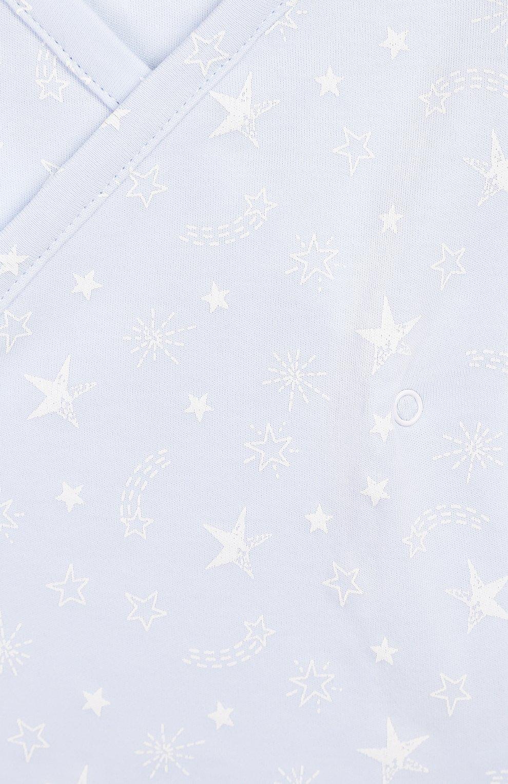 Детский комплект из распашонки и брюк KISSY KISSY голубого цвета, арт. KBZ04280N | Фото 6