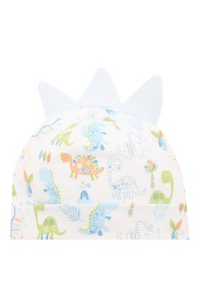 Детского хлопковая шапка KISSY KISSY разноцветного цвета, арт. KB504115N | Фото 1