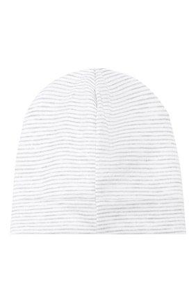 Детского хлопковая шапка KISSY KISSY серого цвета, арт. KB503980N | Фото 2