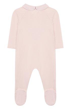 Детский хлопковый комбинезон TARTINE ET CHOCOLAT розового цвета, арт. TQ54121 | Фото 2