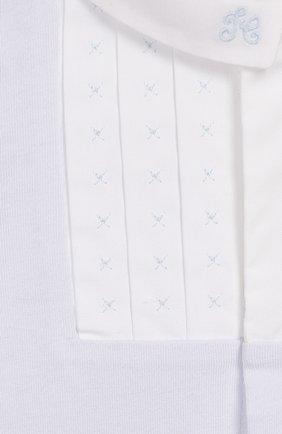 Детский хлопковый комбинезон TARTINE ET CHOCOLAT голубого цвета, арт. TQ54041 | Фото 3
