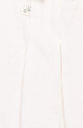 Детское льняной комбинезон TARTINE ET CHOCOLAT белого цвета, арт. TQ33131 | Фото 3