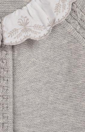 Детский хлопковый комбинезон TARTINE ET CHOCOLAT серого цвета, арт. TQ32001/1M-1A | Фото 3