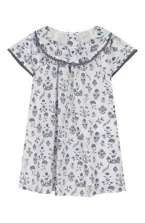 Женский хлопковое платье TARTINE ET CHOCOLAT белого цвета, арт. TQ30041/18M-3A | Фото 1