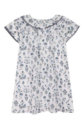 Женский хлопковое платье TARTINE ET CHOCOLAT белого цвета, арт. TQ30041/18M-3A | Фото 2