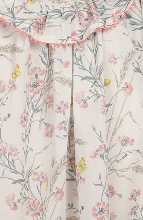 Женский хлопковое платье TARTINE ET CHOCOLAT бежевого цвета, арт. TQ30041/18M-3A | Фото 3