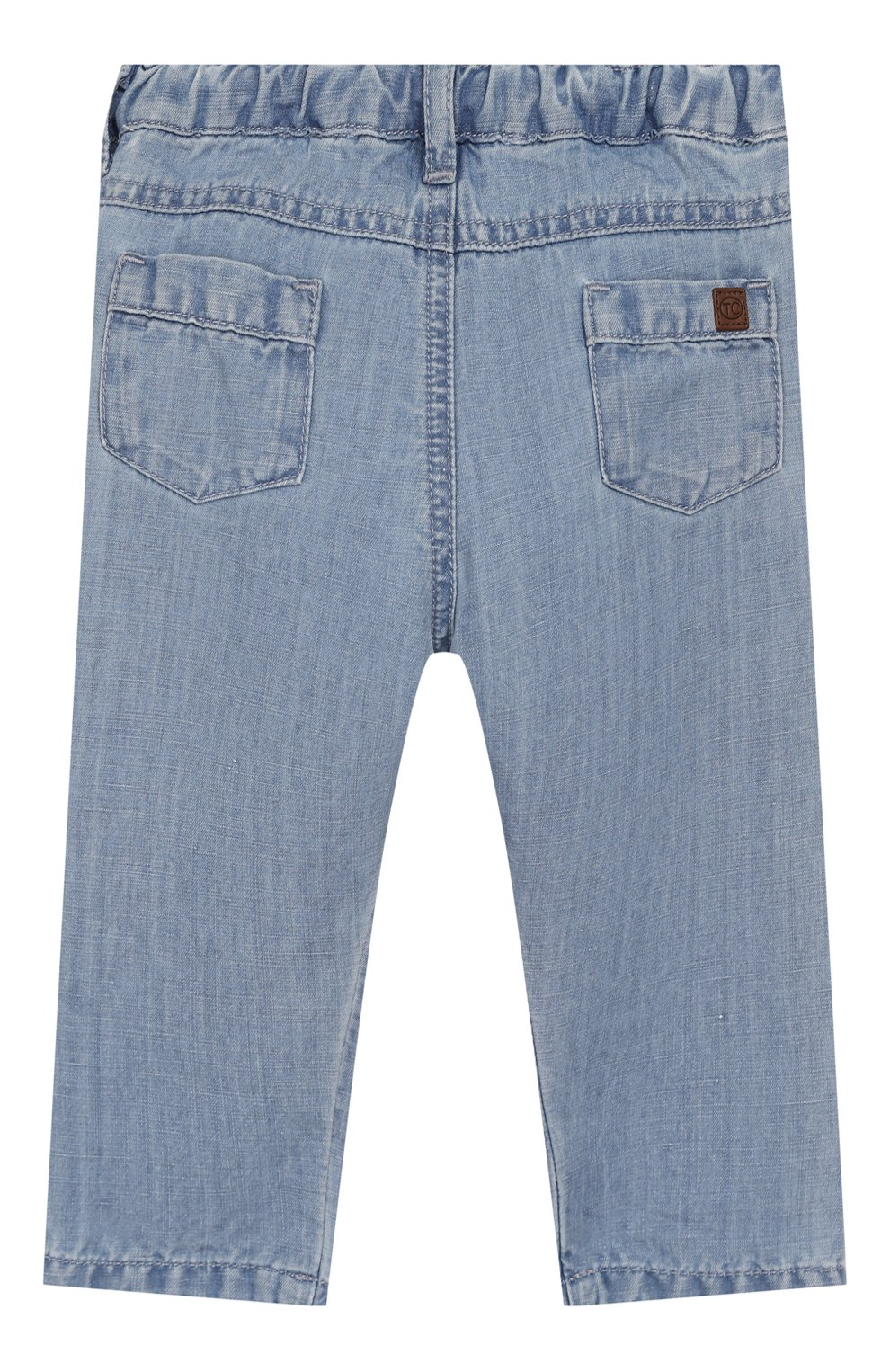 Детские джинсы TARTINE ET CHOCOLAT голубого цвета, арт. TQ22071/1M-1A | Фото 2