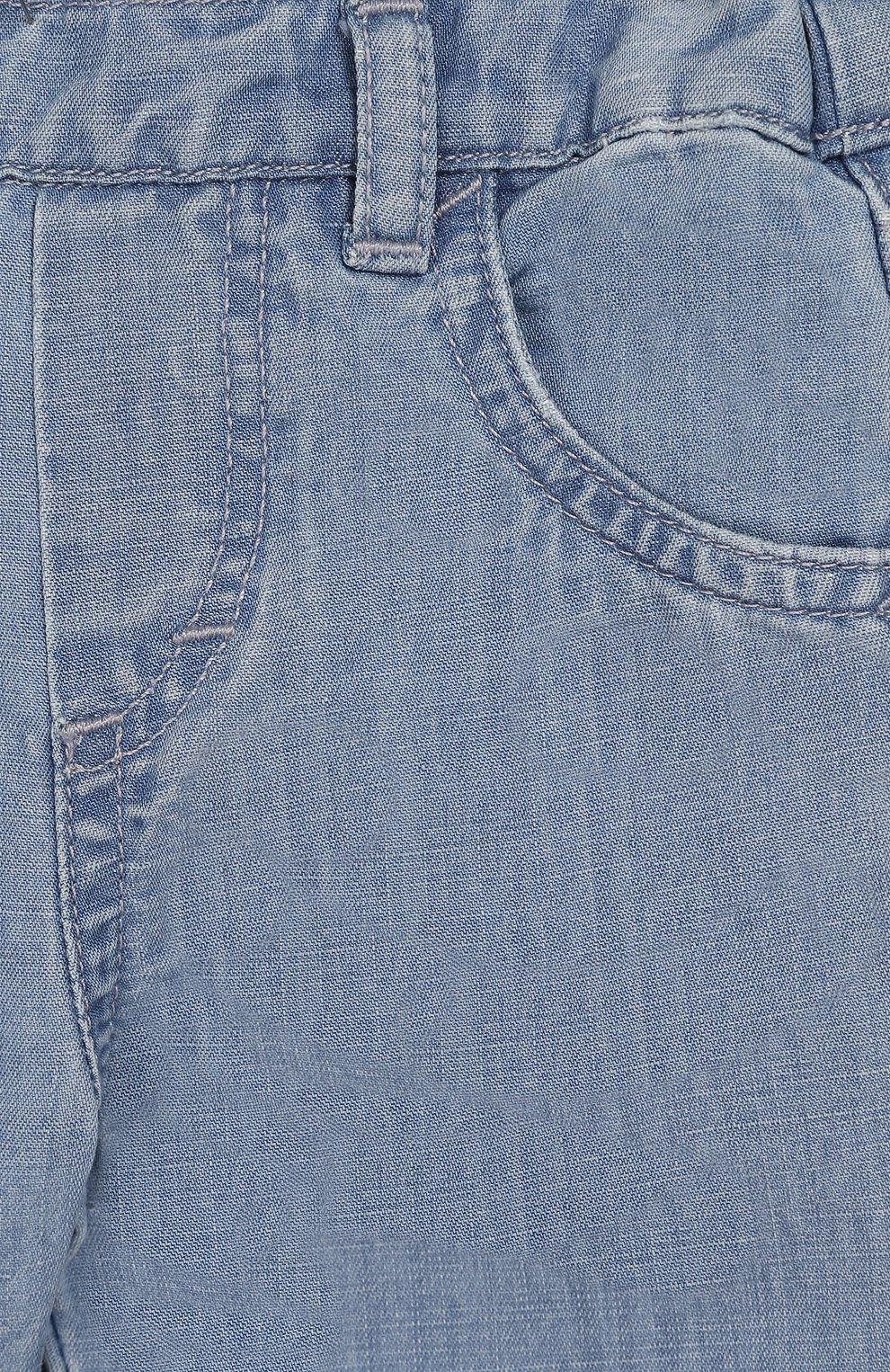 Детские джинсы TARTINE ET CHOCOLAT голубого цвета, арт. TQ22071/1M-1A | Фото 3