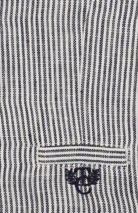 Детский льняной жилет TARTINE ET CHOCOLAT синего цвета, арт. TQ16001 | Фото 3