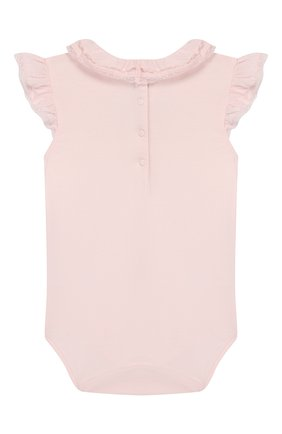 Детское хлопковое боди TARTINE ET CHOCOLAT розового цвета, арт. TQ11021/18M-3A | Фото 2