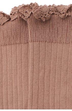 Детские гольфы COLLEGIEN розового цвета, арт. 2954 | Фото 2