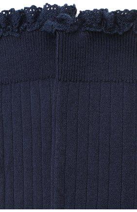 Детские гольфы COLLEGIEN темно-синего цвета, арт. 2954 | Фото 2