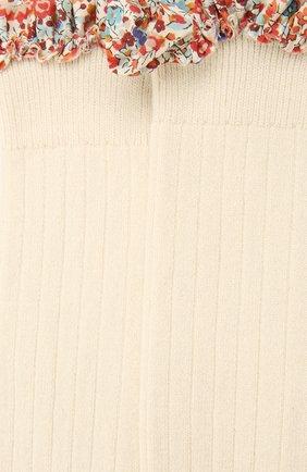Детские гольфы COLLEGIEN белого цвета, арт. 2956 | Фото 2