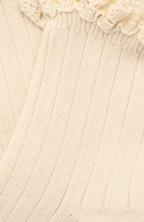 Детские носки COLLEGIEN белого цвета, арт. 3455/18-35 | Фото 2