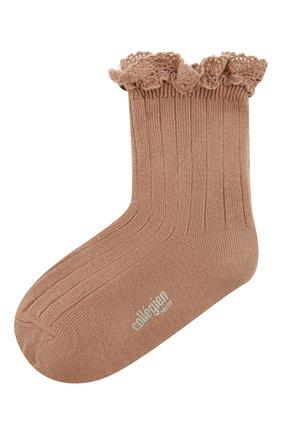 Детские носки COLLEGIEN розового цвета, арт. 3455/18-35 | Фото 1