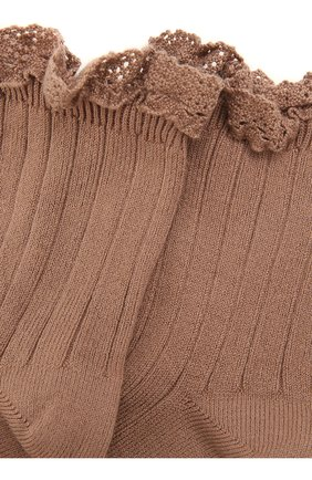 Детские носки COLLEGIEN розового цвета, арт. 3455/18-35 | Фото 2