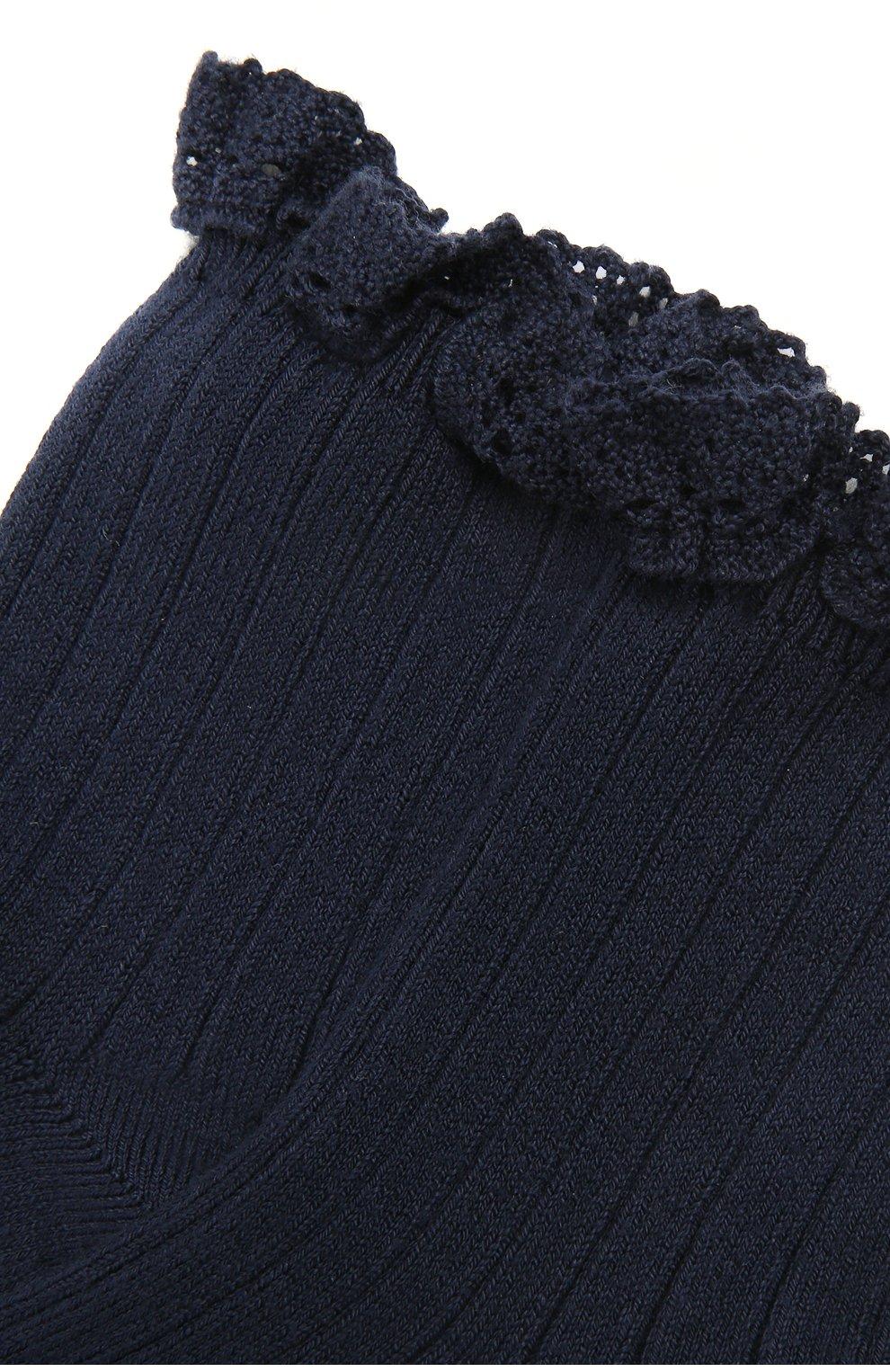 Детские носки COLLEGIEN темно-синего цвета, арт. 3455/18-35   Фото 2