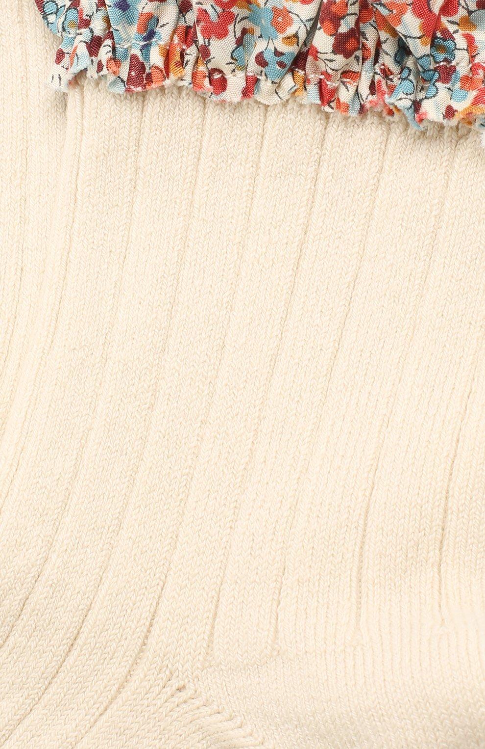 Детские носки COLLEGIEN белого цвета, арт. 3458/18-35   Фото 2
