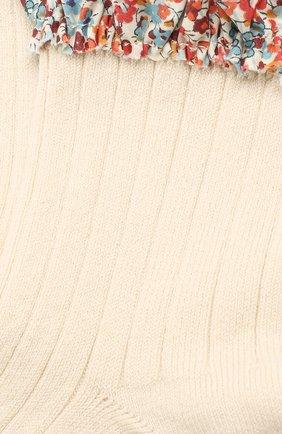Детские носки COLLEGIEN белого цвета, арт. 3458/18-35 | Фото 2