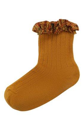 Детские носки COLLEGIEN желтого цвета, арт. 3458/18-35 | Фото 1