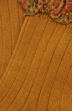 Детские носки COLLEGIEN желтого цвета, арт. 3458/18-35 | Фото 2