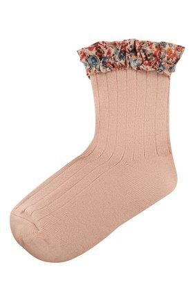 Детские носки COLLEGIEN розового цвета, арт. 3458/18-35 | Фото 1