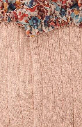 Детские носки COLLEGIEN розового цвета, арт. 3458/18-35 | Фото 2