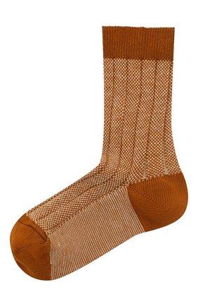 Детские носки COLLEGIEN желтого цвета, арт. 6080/18-35 | Фото 1