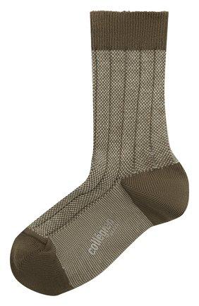 Детские носки COLLEGIEN серого цвета, арт. 6080/18-35 | Фото 1