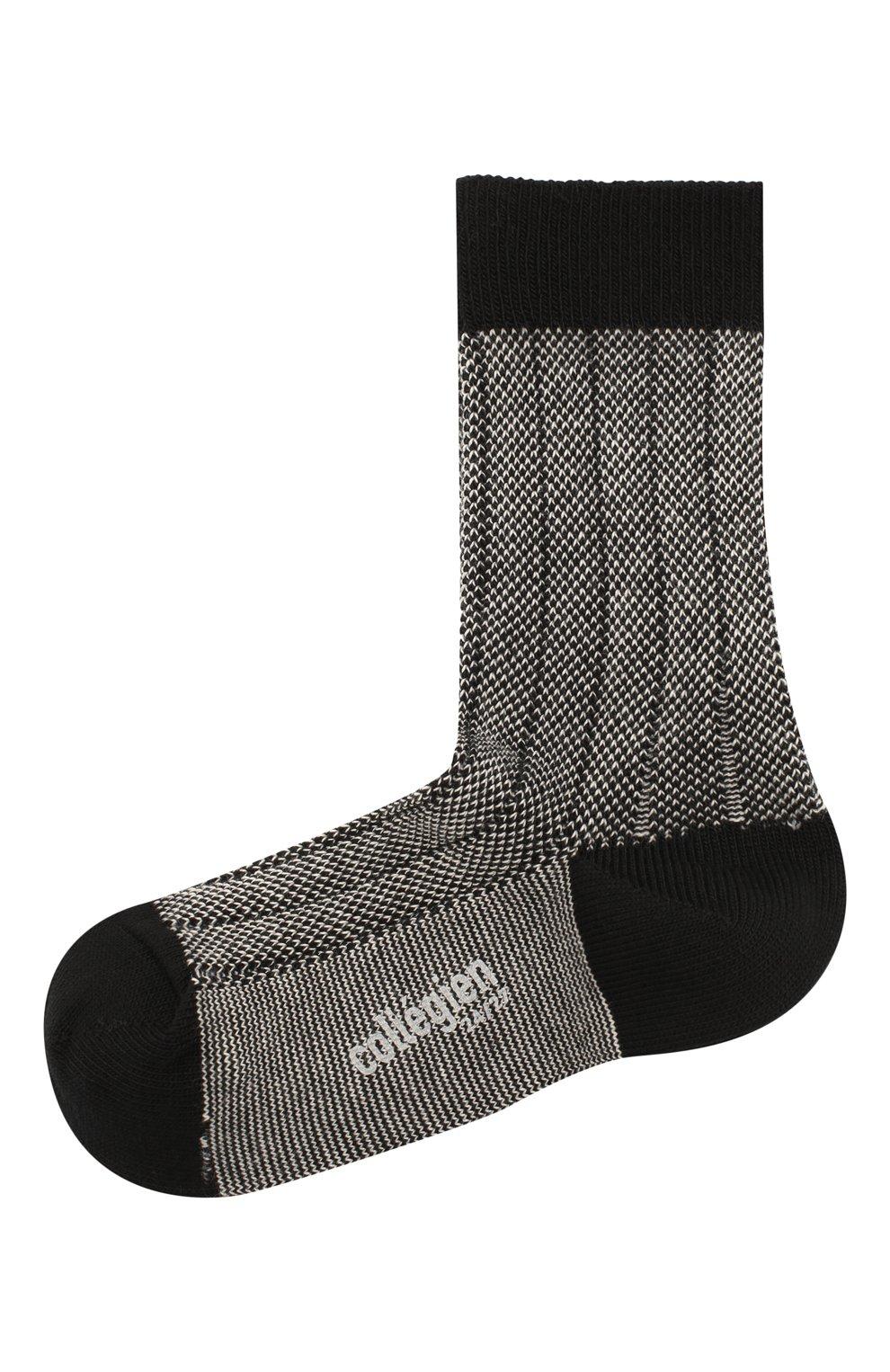 Детские носки COLLEGIEN черного цвета, арт. 6080/18-35 | Фото 1