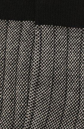 Детские носки COLLEGIEN черного цвета, арт. 6080/18-35 | Фото 2