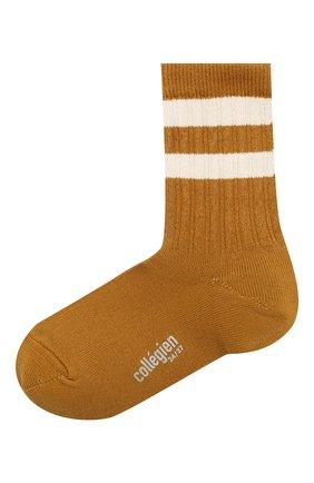 Детские носки COLLEGIEN желтого цвета, арт. 8470/18-35 | Фото 1