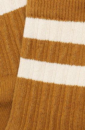 Детские носки COLLEGIEN желтого цвета, арт. 8470/18-35 | Фото 2