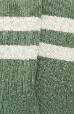 Детские носки COLLEGIEN зеленого цвета, арт. 8470/18-35 | Фото 2