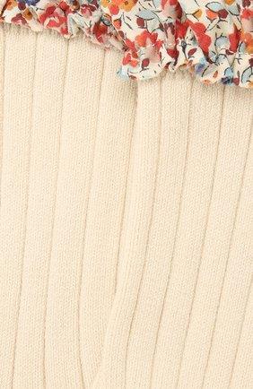 Детские носки COLLEGIEN белого цвета, арт. 3458/36-44 | Фото 2